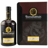 Bunnahabhain 25 y.o. - neue Ausstattung  Volumen: 0.7 Liter | Alkoholgehalt: 46.3% | Nicht kühlfiltriert | Ohne Farbstoff