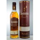 Glenfiddich 15 y.o. Solera Volumen: 0.7 Liter | Alkoholgehalt: 40% | Kühlfiltriert | Mit Farbstoff