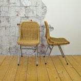 Vintage rotan stoelen gebr. Jonkers