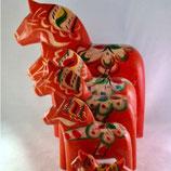 Houten Dalarna paardjes