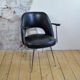 Vintage (kappers)stoel 50/60er jaren