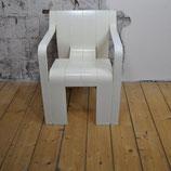 """""""Strip"""" stoel met armleuning"""