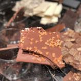 Milchschokolade 34% Karamell