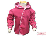 Softshelljacke in Pink Nr.05