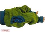 Pumphose Breitcord Grün Nr.04