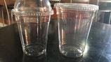 Vaso para bebida fría transparente Pack50
