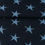 Bündchen Stern Dunkel Blau-Jeans Stern