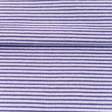 Bündchen Streifen Violett