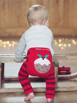 Weihnachts-Leggings Christmas Pudding