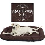 Knuffelwuff bedrucktes Hundebett Avery