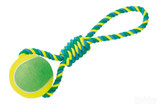 Rope Toy, Spielseil mit Tennisball XXL