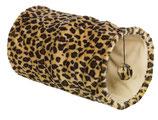 Plüschtunnel Leopard