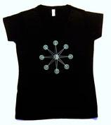 Women T-Shirt V-neck