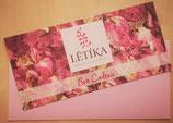 Carte cadeau Letika