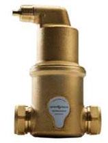 SpiroVent 22 mm mit Quetschverschraubung und horizontalem Anschluss