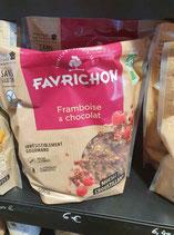 Favrichon Framboise et chocolat 500g