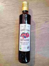 Sirop artisanale grenadine