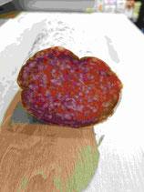 Salami de Milan à la découpe