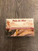 Filets de maquereau à la sauce moutarde biologique 120gr