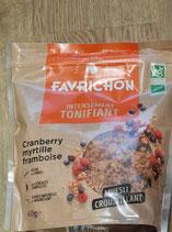 Favrichon Tonifiant cranberry myrtille et framboise 450g