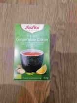 Thé vert citron gingembre