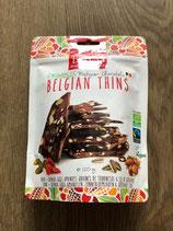 Belvas Belgian Thins chocolat au sucre de fleur de coco 120gr