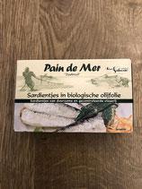 Sardines à l huile d'olive biologique 120gr