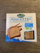 Biscottes sans sucres et sans sel ajoutés