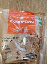 Favrichon graines de lin et courges 450g