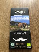 Cachet chocolat lait