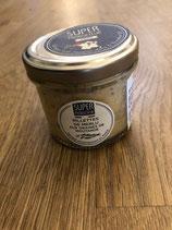 Rilettes de Merlu aux graines de moutarde 90gr