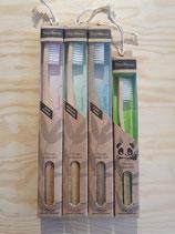 brosse à dent en bambou ( soft, medium, hard et kids)