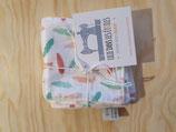 Cottons démaquillants carrés 6 pièces