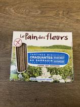 Le pain des fleurs sarrasin sans sel 150g