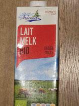 Lait de vache entier 1L