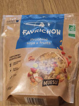 Favrichon Protéiné Soja et fruits 450g