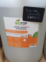 Liquide vaisselle Biotop en vrac