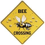 ミツバチ看板