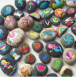 July 24th 10:00 - 3:00 Rock Painting @ Wilory Farm