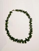 Verdelith / Grüner Turmalin Kette 41 cm