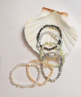 Süßwasser Perlen Armband Größe S