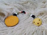 016 Cookie Beißkette hellbraun / dunkelbraun
