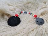 012 Cookie Beißkette grau / rot