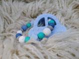 008 Auto Beißring pastellblau