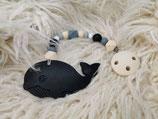 002 Wal Beißkette schwarz