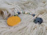 019 Cookie Beißkette hellbraun / lind