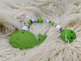 014 Wal Beißkette grün