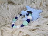 002 Schildi Beißring pastellblau