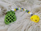 022 Ananas Beißkette grün