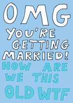 OMG You´re getting married !